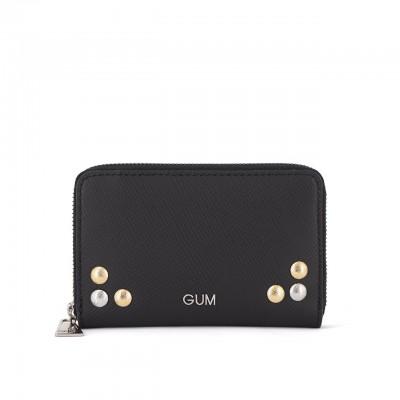 Gum Design | Portafoglio Piccolo Nero | GUM_PF 01/21 STUDSWASP 001