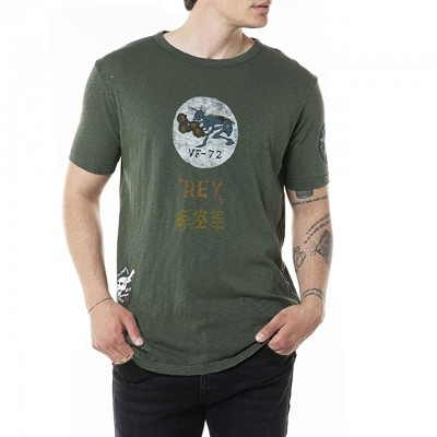 T-Shirt Girocollo In Puro...