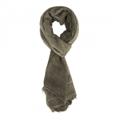 Solid Color Light Scarf, Green