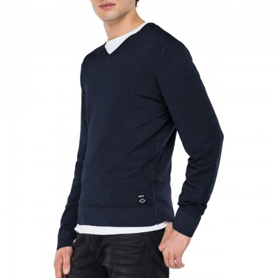 Replay | V-neck Sweater,...