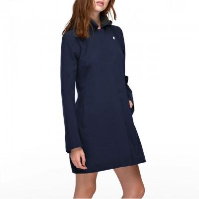 Mathilde Bonded Jersey, Blu