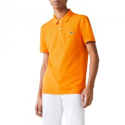 Slim Fit Polo Shirt, Orange