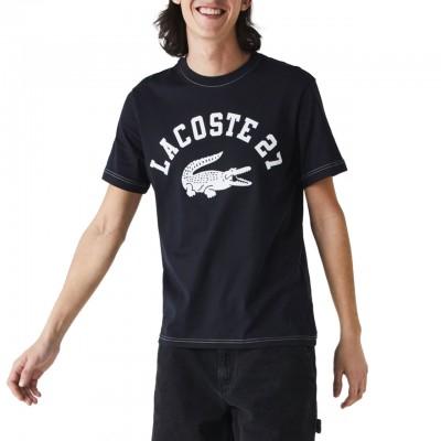 T-Shirt In Cotone Con Collo...