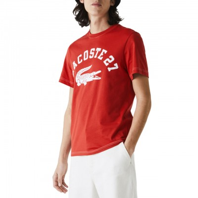 Cotton T-Shirt With Round...