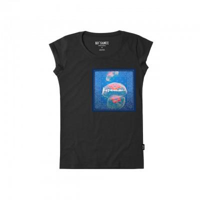 Jelly Bandana T-Shirt, Nero