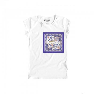 Lawn Bandana T-Shirt, White