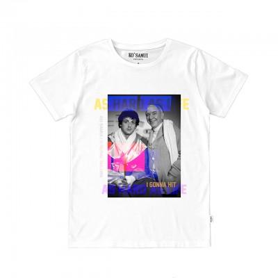 Balboa Graphic T-Shirt, Bianco