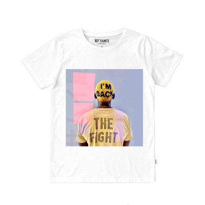 Fight Graphic T-Shirt, White