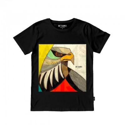 Beak Stitch T-Shirt, Black