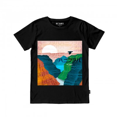 Admire Stitch T-Shirt, Black