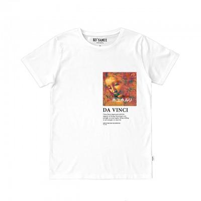 Hair Art T-Shirt, Bianco