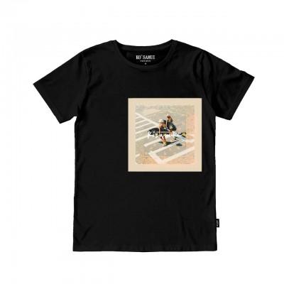Seaboard Bandana T-Shirt, Nero