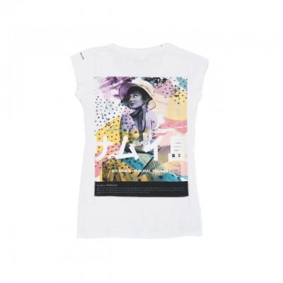 Icon T-Shirt, Bianco