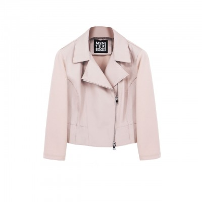 Leather Jacket, Beige