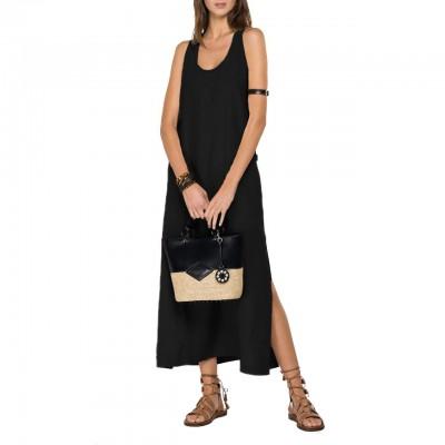 Essential Linen Long Dress,...