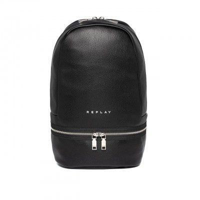 Solid Color Backpack With...