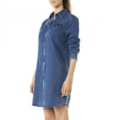 Dressed In Denim, Blue