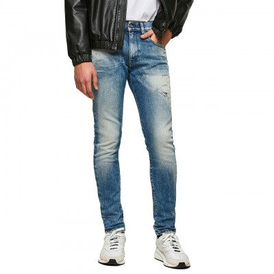 D-Strukt 009MW Jeans, Blue