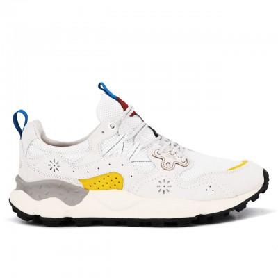 Yamano 3 Man Sneaker, White