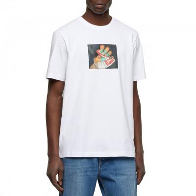 T-Just-A36 T-Shirt, Bianco