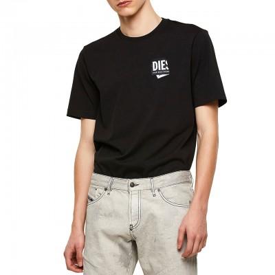 T-Just-Lab T-Shirt, Nero