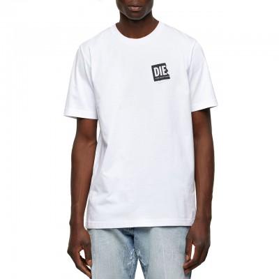 T-Just-Lab T-Shirt, Bianco