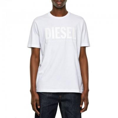 T-Just-Inlogo T-Shirt, Bianco