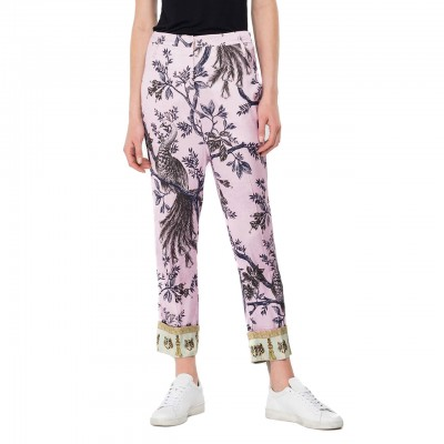Viscose Trousers With...