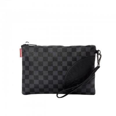 Black Henny Clutch Bag, Black