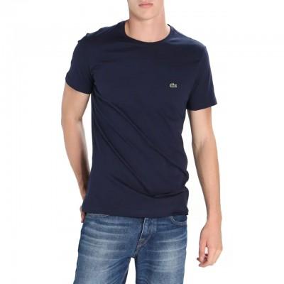 T-Shirt Girocollo, Blu