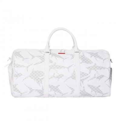 White Shark Pattern Duffle,...