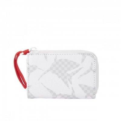 White Shark Pattern Wallet,...