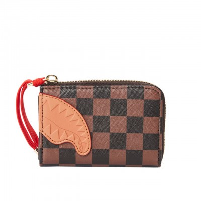 Brown Henny Wallet, Marrone