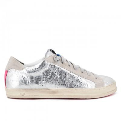 Sneaker John Ghinea, Argento