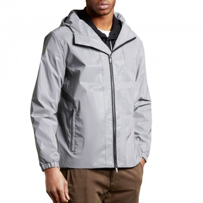 Reflective Hooded Jacket,...