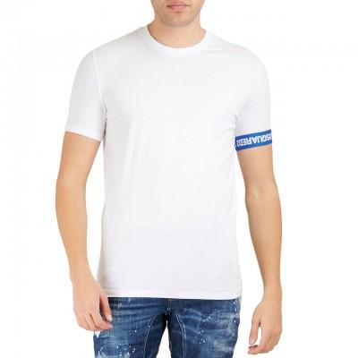 Round Neck T-Shirt, Bianco