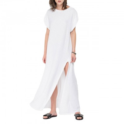 Long Jersey Dress With...