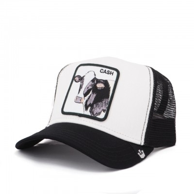 Cash Cow Baseball Hat, White