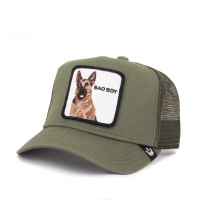 Bad Boy Baseball Hat, Green