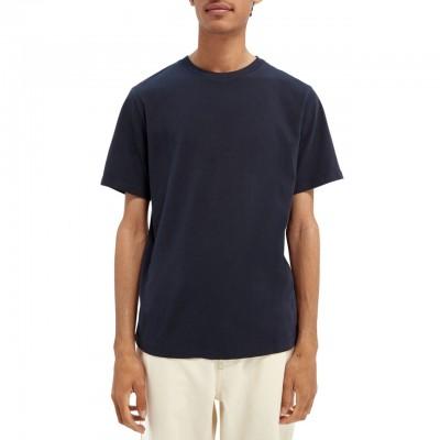 T-Shirt Girocollo In Cotone...