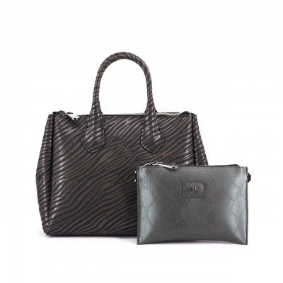Fourty Medium Handbag, Black