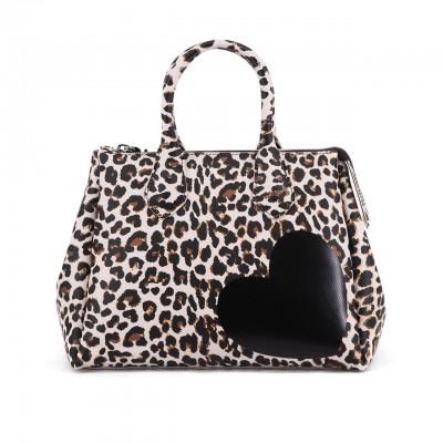 Fourty Medium Handbag, Beige