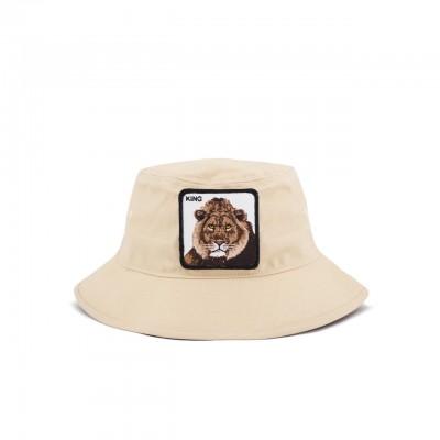 Lion Around Bucket, Beige