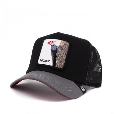 Woody Wood Baseball Hat, Black