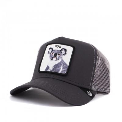 Free Hug Baseball Hat, Gray