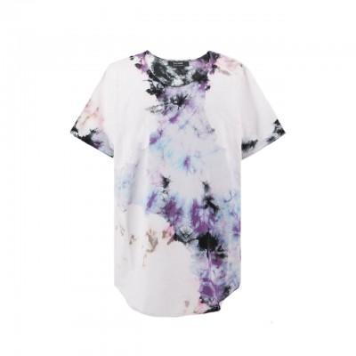 Tie Dye T-Shirt, Bianco