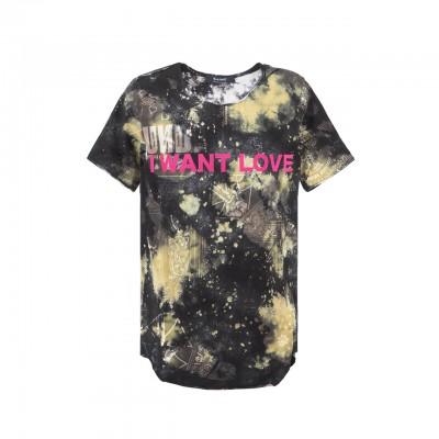 Black Bandana T-Shirt, Multi