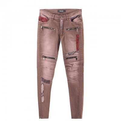Rusty Python Biker's Pants,...
