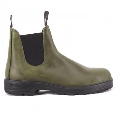 2059 Dark Green Leather, Green