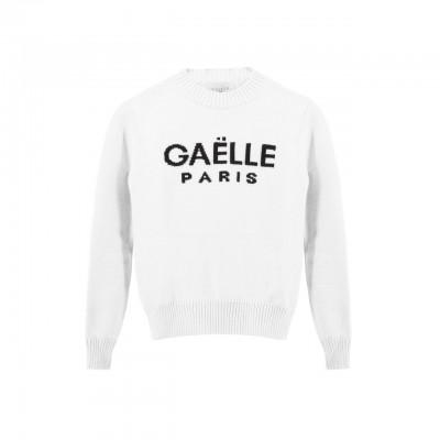 Long Sleeve Sweater, White